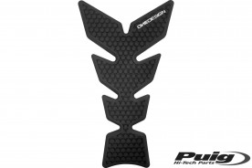 Tank Pad Tank Protector Motorcycle Carbon Look Black Gold Universal Special