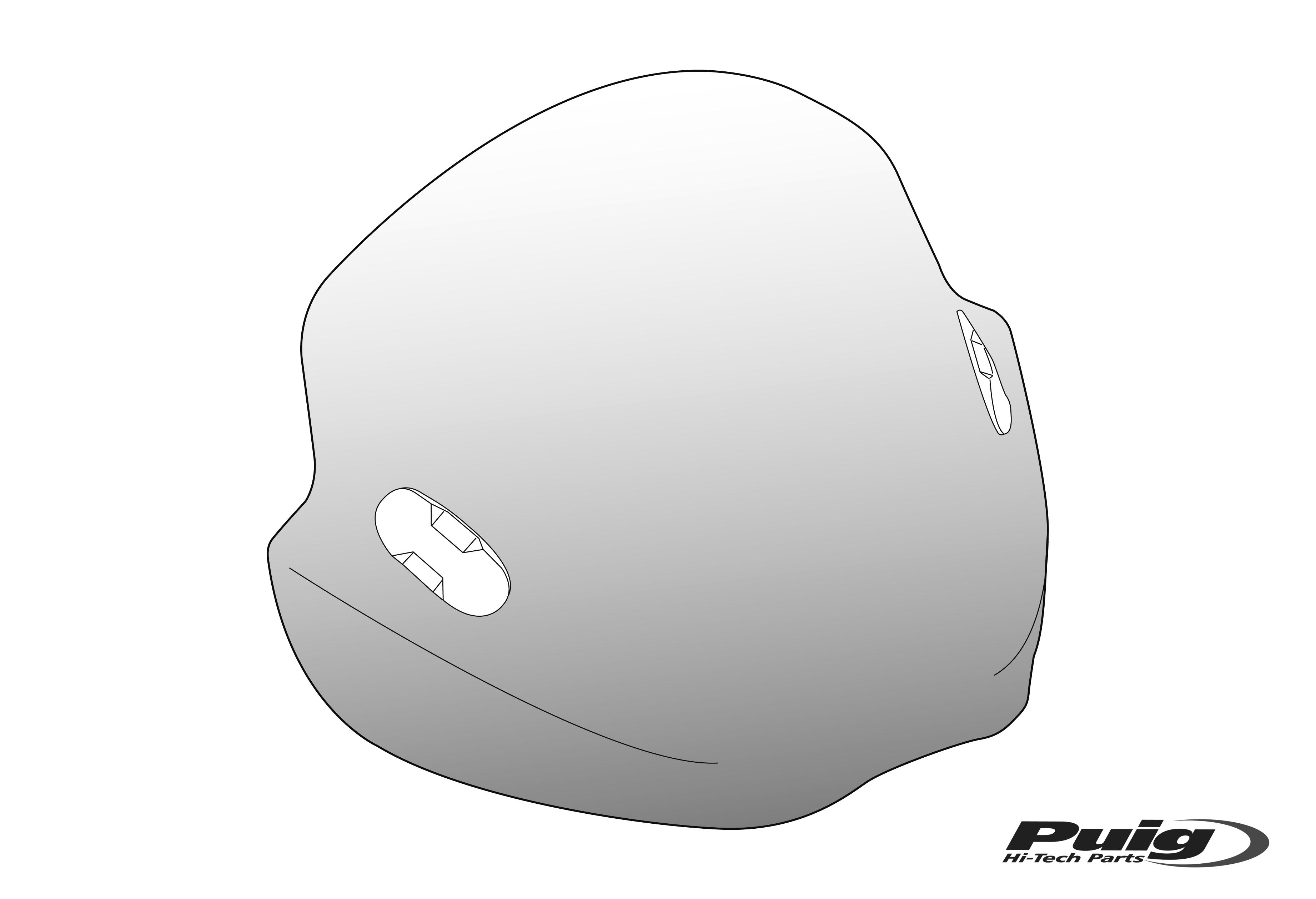 Productos Motoplastic Puig 2000 Ducati Monster Wiring Diagram Carenabrises Universales Para Faros No Redondos