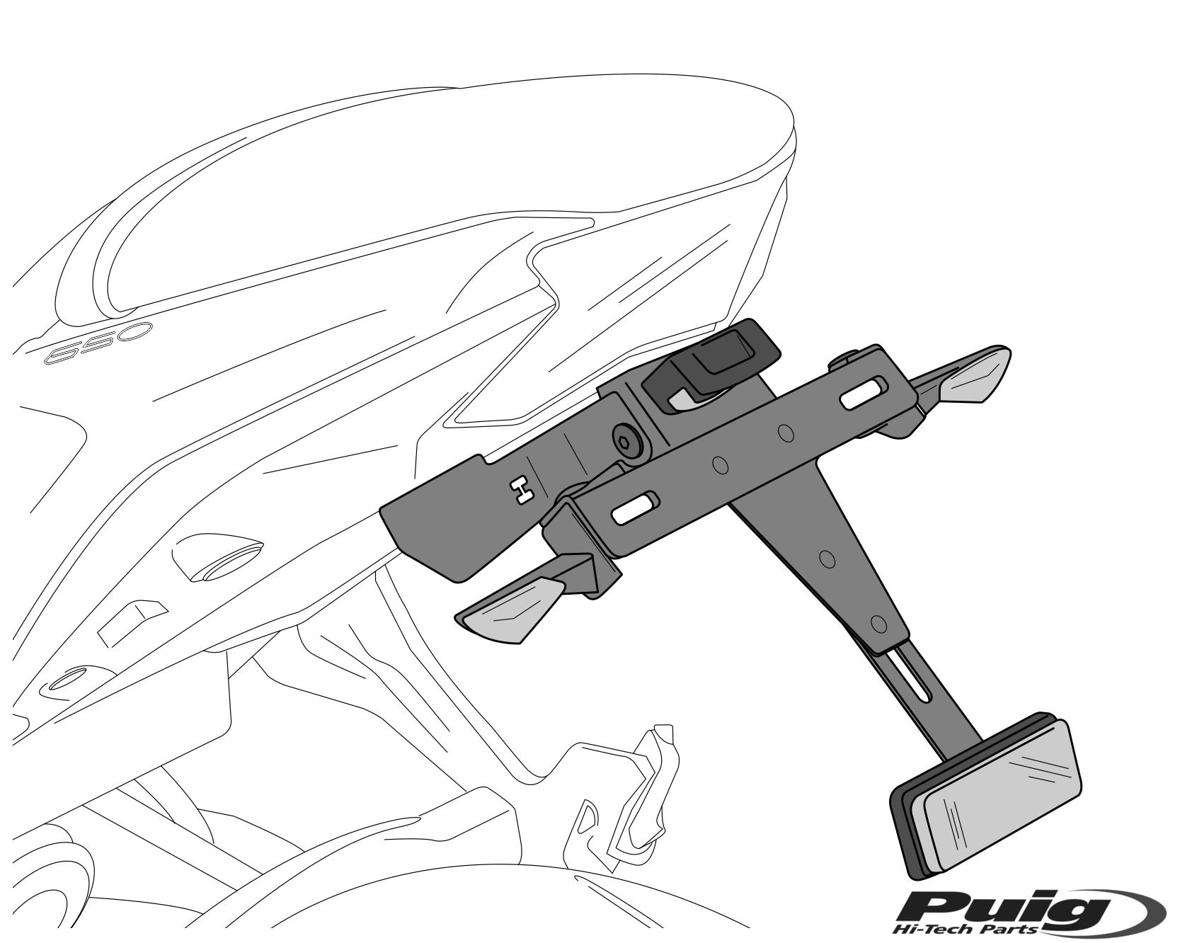 Productos Motoplastic Puig 2000 Ducati Monster Wiring Diagram Portamatrculas