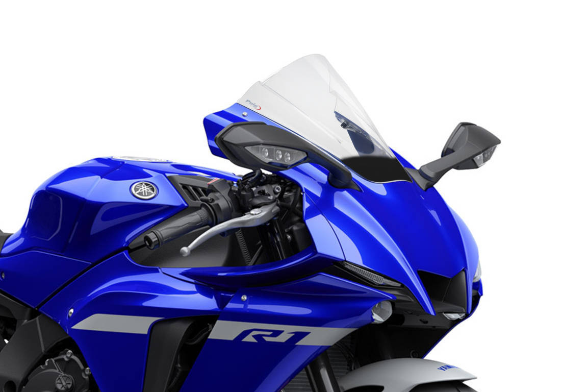 Bulle Racing pour Yamaha YZF-R1 2020 fum/é Clair Puig 3826h