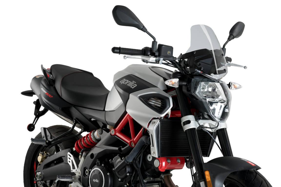 Verkleidungsscheibe Puig New Generation Sport Kawasaki Z1000 2014 schwarz