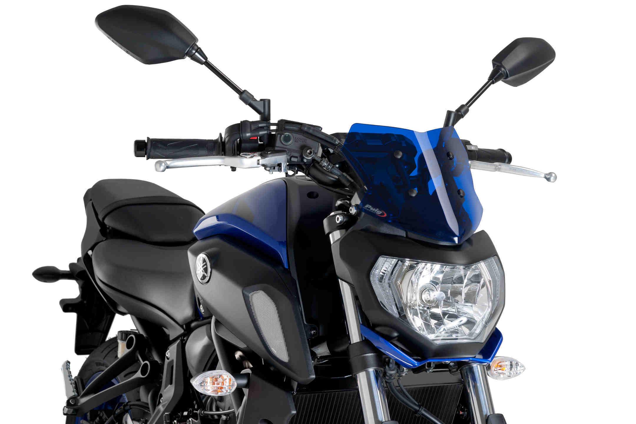 Puig Naked New Generation Sport Windscreens 14-17 Yamaha