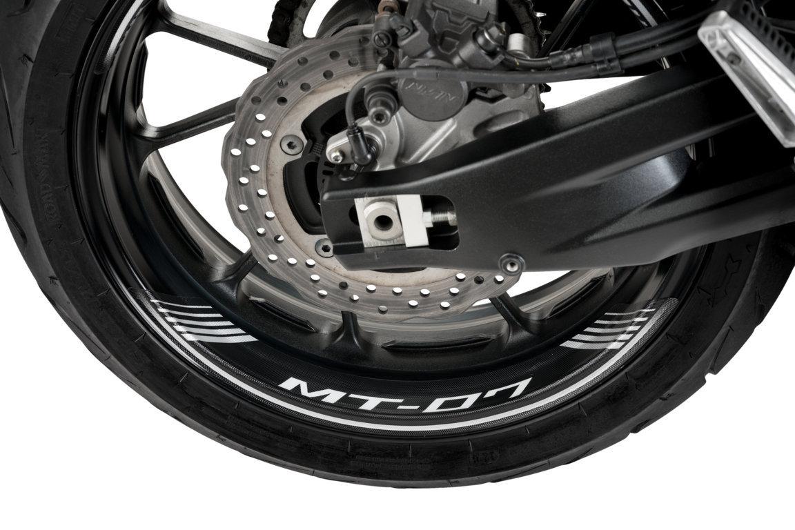 Puig 9136P Rim Strips for Yamaha MT-07