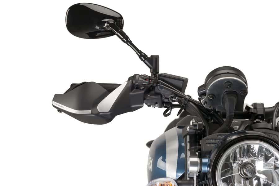 Puig 8548J Paramanos para Motocicleta Negro Mate